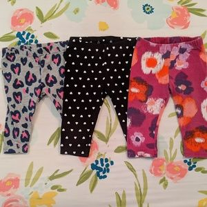 Other - 3 for $15 Baby Girl Pants Bundle